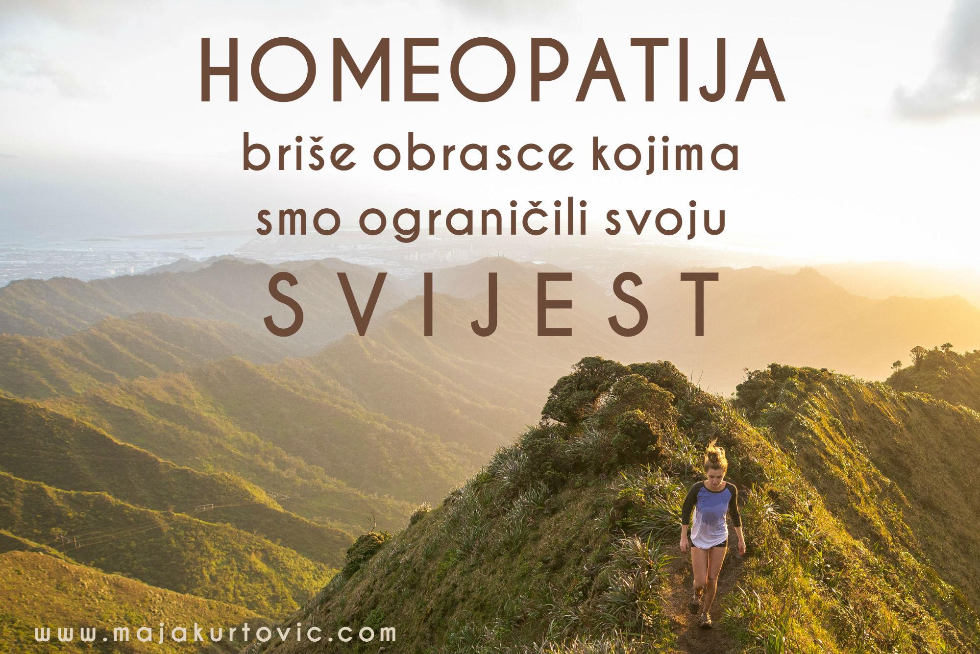 Homeopatijom širimo svijest