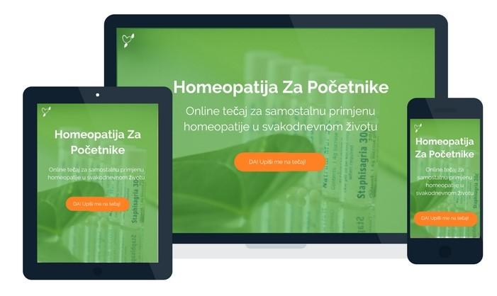 Online tečaj za samostalnu primjenu homeopatije u svakodnevnom životu